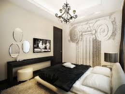 Master Bedroom Ideas With Wallpaper Accent Wall Luxury Vintage Apartment Master Bedroom Decor Homedecor