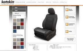 Katzkin Interior Selector Katzkin Seats Leather Replacement Option