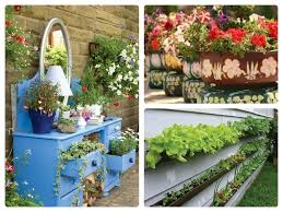 cool garden ideas for kids with colourful flower plants inside