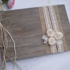rustic wedding photo albums wooden guestbook or photo album rustic from craftstories on
