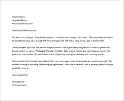 exle resign letter hospital resignation letter 28 images resignation letter