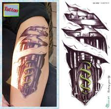 tattoo n 3d temporary tattoos waterproof tattoo stickers body art painting for