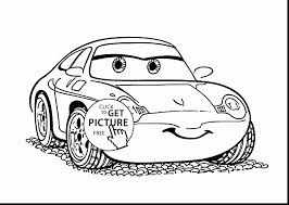 cars sally surprising cars lightning mcqueen coloring pages with disney cars
