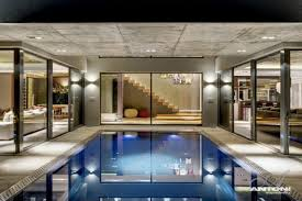 indoor swimming pool luxurious interior pearl valley golf estate