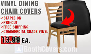 Vinyl Dining Room Chair Covers Replacement Vinyl Dining Chair Covers Staple On Save Money Diy
