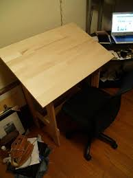 Simple Drafting Table Build Your Own Drafting Table Cheap Flickr