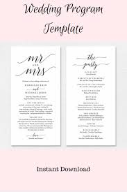 print your own wedding programs edit and print your own wedding programs wedding