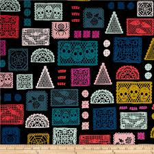 cotton steel boo paper parade black discount designer fabric