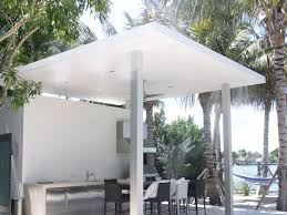 misting system at a custom home in miami beach florida misting