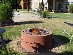 Diy Firepits 50 Pit Using Concrete Tree Rings 5 Steps With Pictures