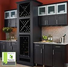 houzz glass kitchen cabinet doors bar maple mission style door with finish
