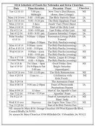 church feasts calendar 2014 st mary u0026 st george coptic