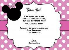minnie mouse thank you cards minnie mouse thank you card green pink by lifesdigitaldesigns