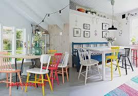 cuisine brocante deco chaises depareillees pour idees de deco de cuisine unique