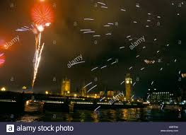 2000 new years new years 1999 into 2000 millennium celebrations stock photo
