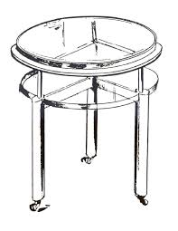 how to draw a round table sesigncorp