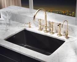 Black Faucets by Charming Blancoamerica Kitchen Sinks And Black Faucets With Trends