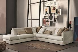 Italian Sectional Sofas by Alfred Contemporary Leather Sectional Sofa By Gamma Arredamenti