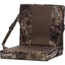 game winner mossy oak infinity extra large folding seat cushion