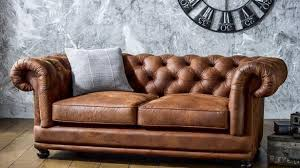 Chesterfield Leather Sofa Bed Faux Leather Sofas Dosgildas