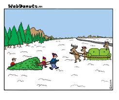 christmas tree cartoon webdonuts webcomics