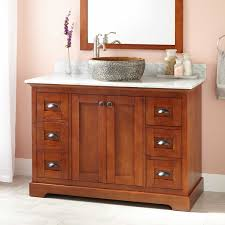 cherry light wood bathroom vanities for good looking interior