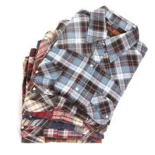 Flannel Shirts Guide Mens Plaid Snap Flannel Shirts Assorted
