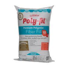 Where To Buy Cushion Stuffing Amazon Com Fairfield Poly Fil Premium Polyester Fiber White 1