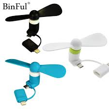 portable fan for iphone binful 100 tested mini 2 in 1 portable micro usb fan for iphone 5 6