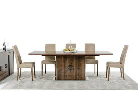 Modern Dining Room Tables Italian Modrest Athen Italian Modern Dining Set