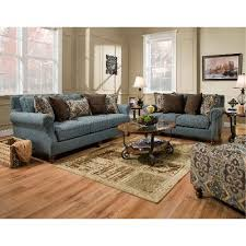 blue sofa set living room rc willey has luxurious living room groups in stock