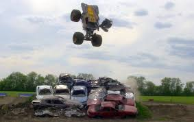 monster truck shows in nj tom meents aims for world record front flip in a monster truck