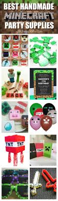 minecraft party supplies best handmade minecraft party supplies catch my party