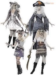 ladies zombie pirate costume ghost ship womens halloween fancy