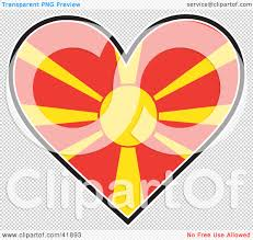 Macedonian Flag Macedonia Flag Clipart Collection