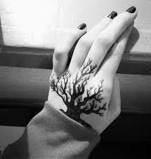 small tree hand tattoo ideas tattoo designs