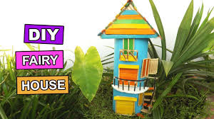 diy miniature fairy gardens house easy popsicle stick crafts for