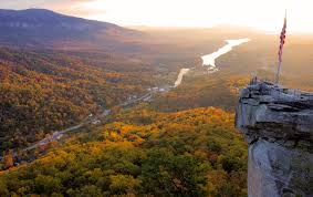 North Carolina where to travel in november images Fall color update chimney rock lake lure is top pick jpg