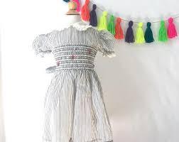 girls vintage dress etsy