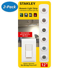 Battery Operated Cabinet Lights by 2 Pack Stanley 32760 Led Remote Light Strip Wireless Under
