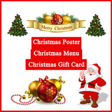 christmas posters design luxury christmas posters christmas menu gift cards for