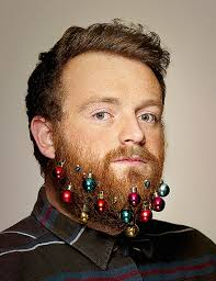 beard baubles will turn your ordinary beard into a christmas tree