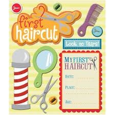 k u0026 company first haircut sticker medley scrappin u0027 pinterest