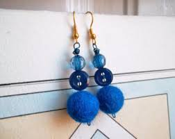 felt earrings felt earrings etsy