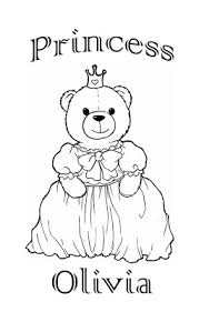 coloring pages jessica name princess coloring pages