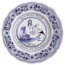 birth plates delft blue birth plates delft blue plates delft