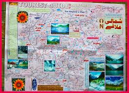 northern map tourist guide map of northern areas naeem ghauri flickr