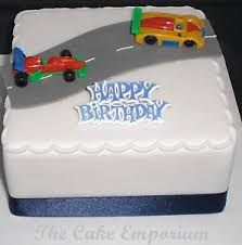 racing car birthday cakes ebay