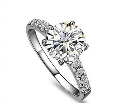 diamond rings girls images Ring diamond ring for girl online cheap 1ct round synthetic semi jpg