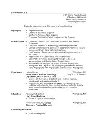 rn resume exles 2 new grad rn resume sle